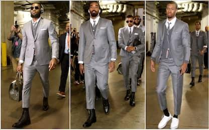 Cleveland, che stile: un'eleganza firmata LeBron