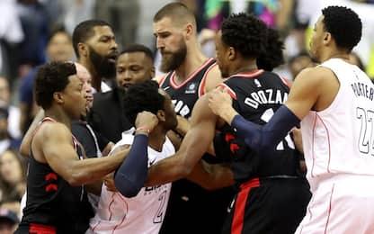 Washington-Toronto: tensione alle stelle in gara-3
