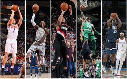 Vota il canestro sulla sirena della stagione NBA
