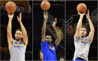 I segreti del tiro di Curry, Durant e Thompson
