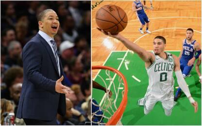 Coach Lue e Tatum: rivali NBA, cugini nella vita
