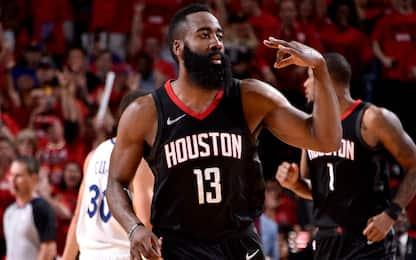 Houston risponde a Golden State e stravince gara-2