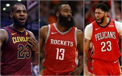 I finalisti dei premi stagionali della NBA