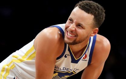 Tutta la fiducia di Curry, tra canestri&parolacce
