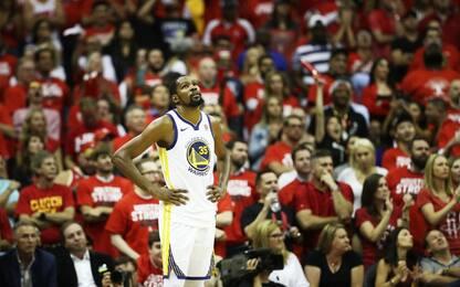 Warriors, nelle mani di Durant per non abdicare