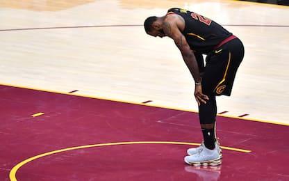 """LeBron: """"Warriors 'alla' Spurs: vietato sbagliare"""""""