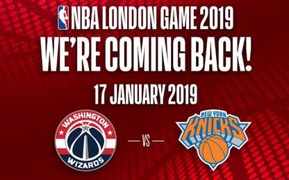 New York-Washington a Londra il 17 gennaio 2019