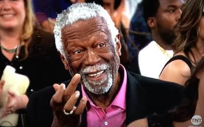 """Russell """"saluta"""" Barkley facendo il dito medio"""