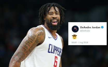 DeAndre Jordan va ai Dallas Mavericks per un anno