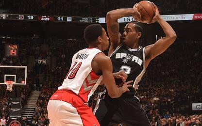 Leonard va a Toronto, agli Spurs arriva DeRozan