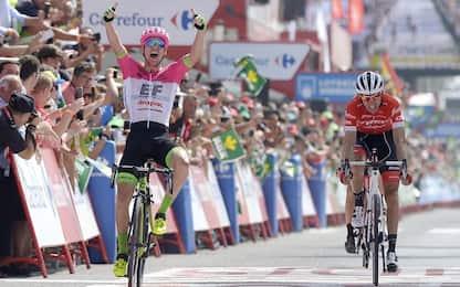 Vuelta: vince Clarke, Molard nuova maglia rossa