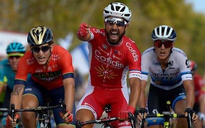 Vuelta: vince in volata Bouhanni, Molard in rosso
