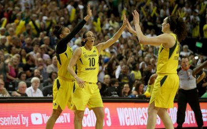 WNBA: Seattle vola sul 2-0, titolo a un passo