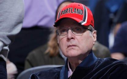 L'NBA piange Paul Allen, proprietario dei Blazers