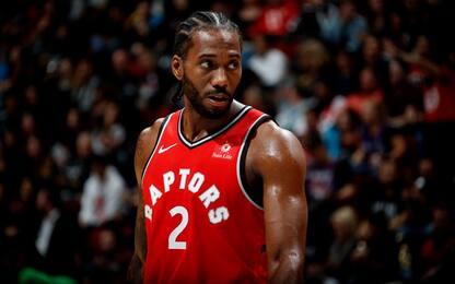 Raptors miglior record NBA? Merito di Leonard