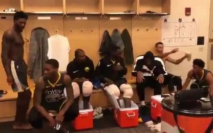 Gli Warriors ballano l'inno USA di Fergie VIDEO