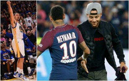Neymar, Curry e quel segreto su Klay Thompson