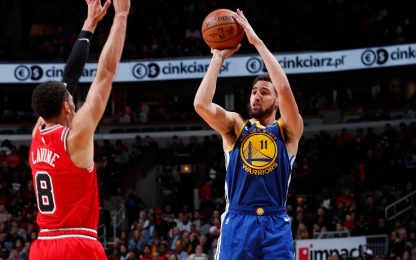 Klay Thompson da record: 52 punti con 14 triple