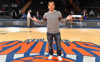 Totti conquista New York: il Capitano all'MSG