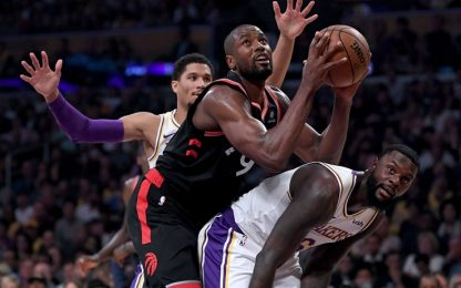 I Raptors distruggono i Lakers anche senza Kawhi