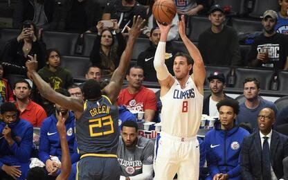 I Clippers battono Golden State all'OT, Spurs ko