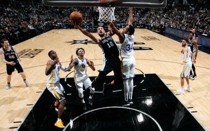 Golden State, Texas amaro: ko anche a San Antonio