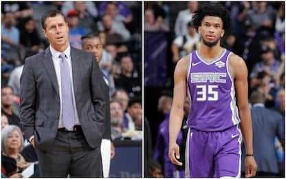 Kings: coach Jorger a rischio per colpa di Bagley?