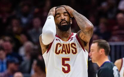 JR Smith attacca, Cleveland lo lascia a casa