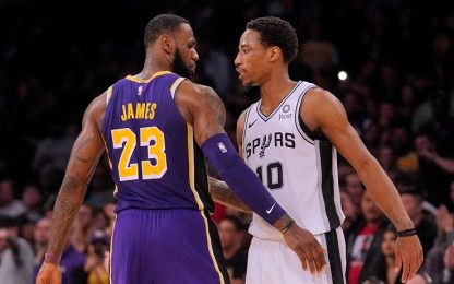LeBron strapazza gli Spurs, Gallinari ko a Memphis