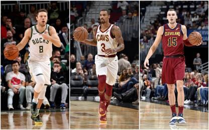 Scambio a tre Cleveland-Milwaukee-Washington