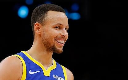 Curry MVP della stagione, nonostante l'infortunio
