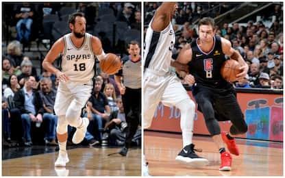 Spurs, 4^ in fila: Clippers ko nel derby italiano