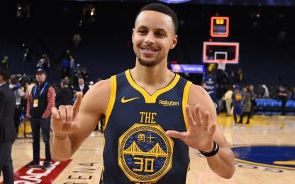 Il consiglio per Curry: tirare 15 volte da tre