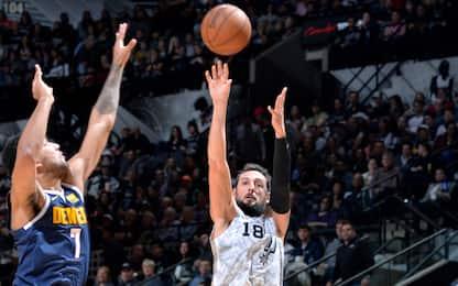Vincono Beli e Gallo: Spurs ottavi grazie a L.A.