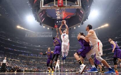 Gallinari vince il derby, Spurs battuti a Denver