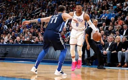 Westbrook torna super, vincono Warriors e Pacers