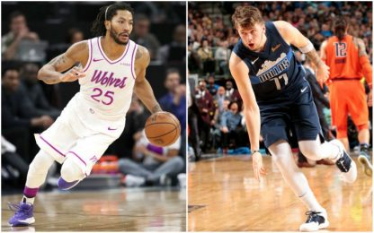 Derrick Rose e Luka Doncic all'All-Star Game?