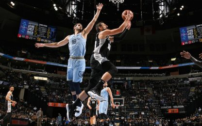 Beli il migliore, ma gli Spurs crollano a Memphis