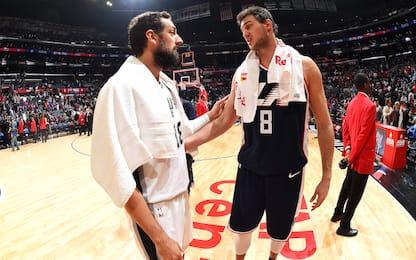 Spurs-Clippers su Sky Sport NBA, derby a rischio