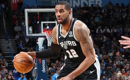 Aldridge c'è e si vede: Pelicans ko con gli Spurs