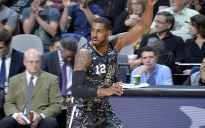 Aldridge ispira, gli Spurs lo seguono: Wizards ko