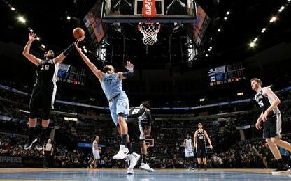 Gli Spurs tornano a vincere, 11 punti di Belinelli
