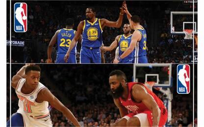 """Vota """"Il Film della NBA"""": Warriors vs Harden"""