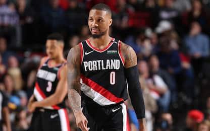 Golden State crolla nel finale a Portland