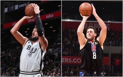 Spurs ancora ko a Brooklyn, i Clippers sorpassano