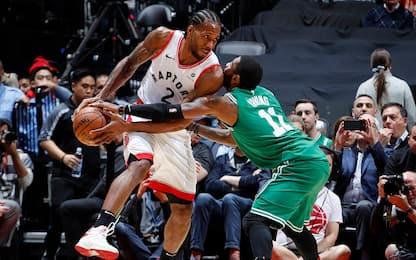 Boston, che sberla: i Celtics crollano a Toronto