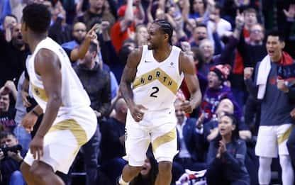Kawhi canestro decisivo, Boston torna a vincere