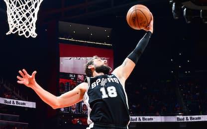 Quarto successo in fila Spurs, Belinelli 5 punti