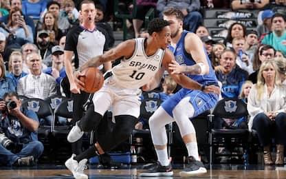 Gallinari out, Clippers a picco, 6^ in fila Spurs