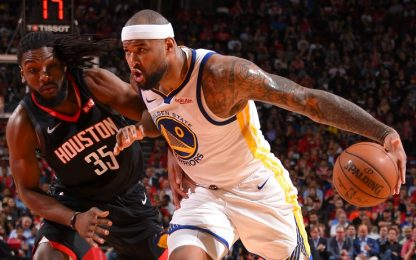 Cousins protagonista, Golden State passa a Houston